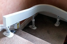 stairlift track